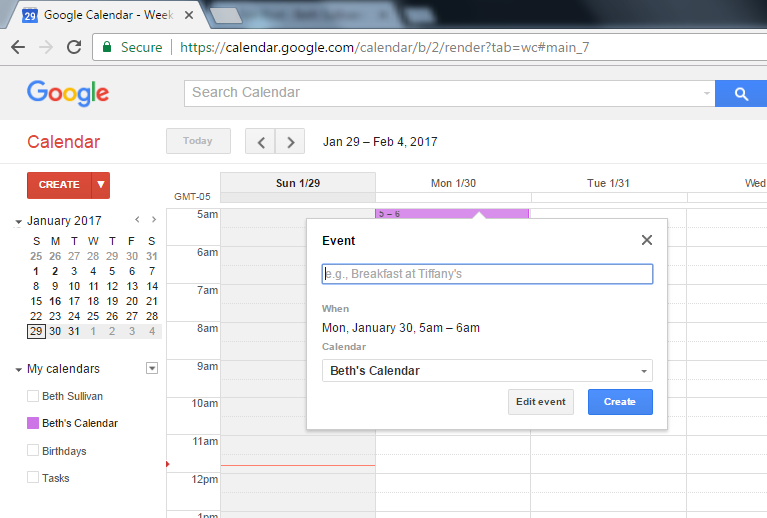 How to Use Google Calendar as Your Homework Planner - Part 2 - Beth