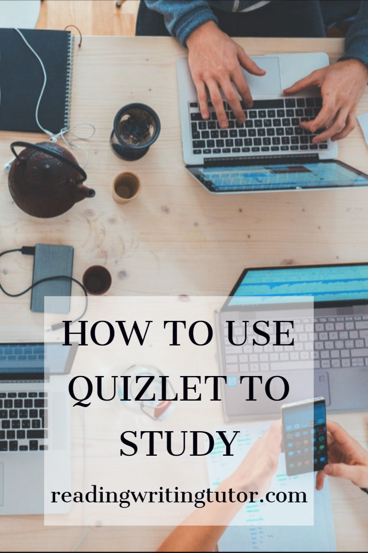 How to use Quizlet to study