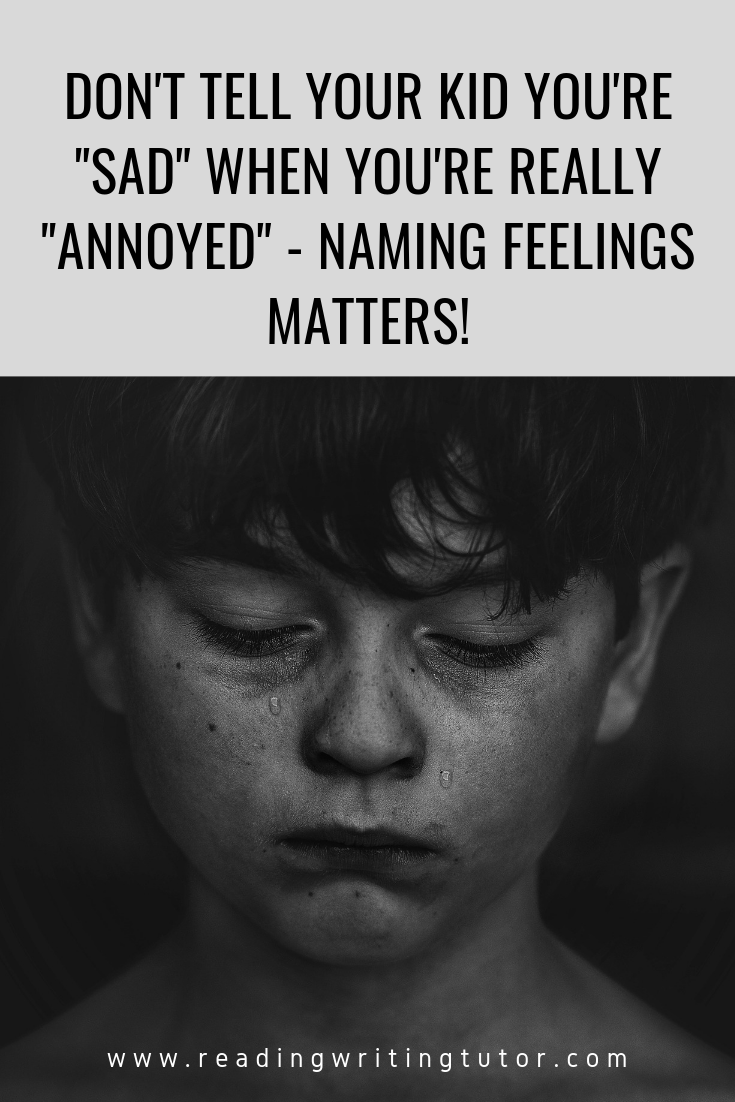 Big feelings in small bodies – Why adults saying sad when they mean angry is my pet peeve