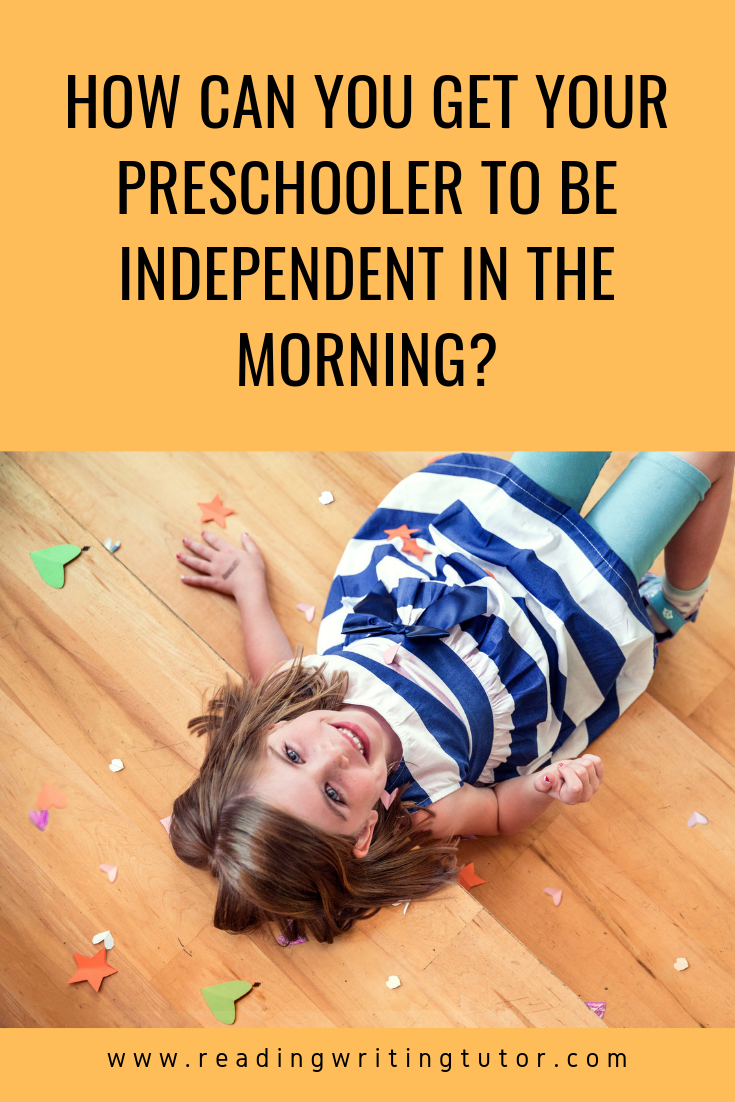 Get Your Preschooler to be More Independent in the Morning