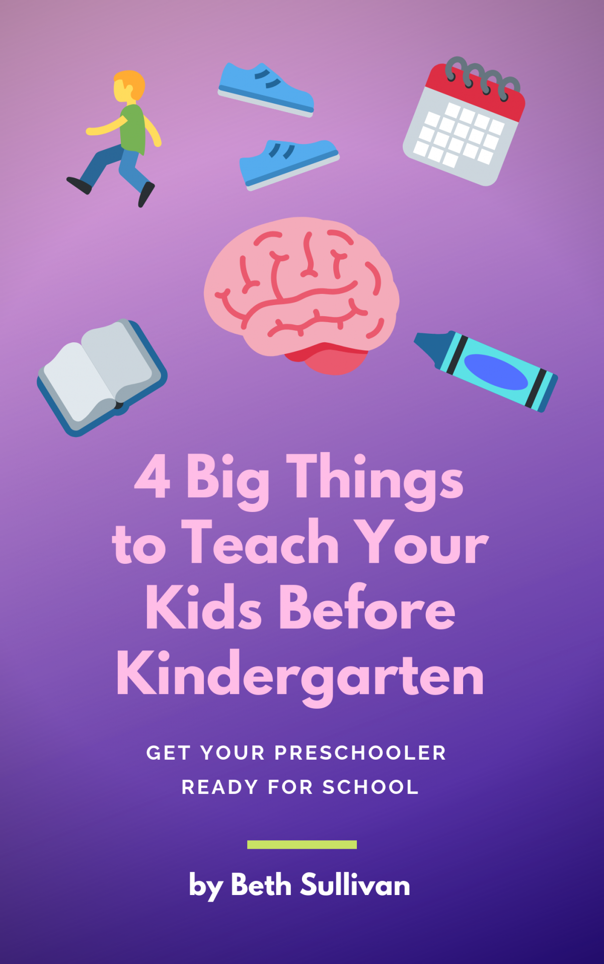 "Are your preschoolers ready to start school? Get the ebook ""4 Big Things to Teach Your Kids Before Kindergarten"" at Amazon today."